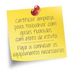 Produtos  e equipamentos  para certificação  de empresas
