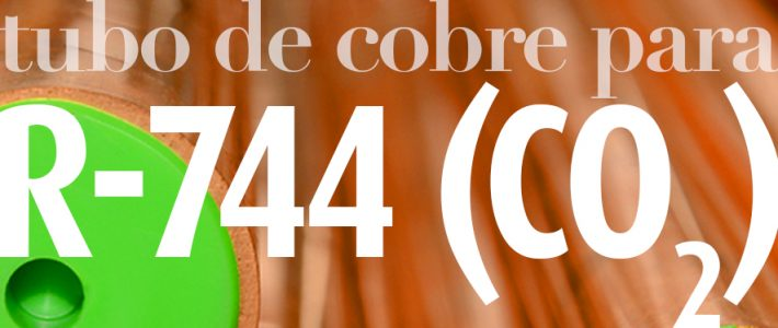 Tubo de cobre WIELAND K65® para R-744 (CO2)